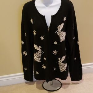 Talbots holiday sweater